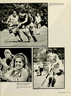 Athena yearbook, 1993. Women's Field Hockey. :: Ohio University Archives