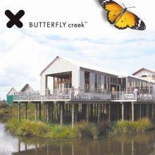 Butterfly creek.  Crocodiles, butterflies, train rides.