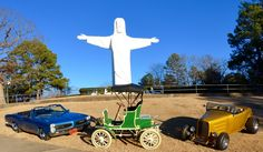 The 47th Annual Eureka Springs Antique Automobile Festival celebrates its first year at a new larger venue, The Great Passion Play, on Sept 8-9, 2017. 100's of beautiful cars, awards, food and parade through historic downtown Eureka Springs. Gates open 8 am, Awards at 3 p.m. and Great Bank Robbery & Parade at 4 p.m. www.Antiqueautofest.com (479) 253-8737 Eureka Springs, Car Show, Arkansas, Cars And Motorcycles, Gates, Antique Cars, Automobile, Larger, Awards