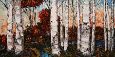 """""""Falls Colours"""" Create Words, Maya, North America, Scene, Colours, Landscape, Painting, Scenery, Painting Art"""