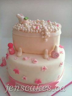 Girl Spa Cake 4 | Flickr - Photo Sharing!