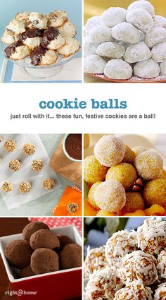 They may be bite-sized, but they're big on flavor. Quick and easy to make, these classic cookie balls are perfect at parties and great as gifts.