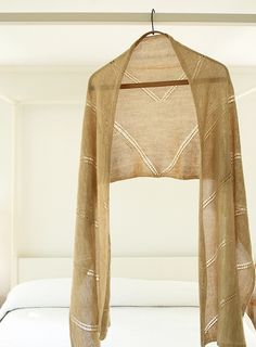 Ravelry: Whisper Wrap pattern by Purl Soho - free pattern
