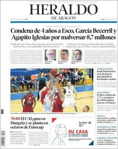 Condenados Esco, García Becerril y Agapito Iglesias.por malversación.
