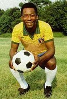 Pelé, rei do futebol....