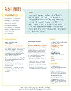 Resume Template | Bespoke Blue and Orange – Loft Resumes