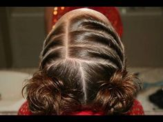 Triple Twists to Twisty Buns | Cute Girls Hairstyles Tons of videos on hairstyles on this site