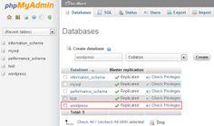 Como usar la replicacion de base de datos en #wordpress