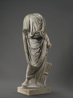 PROPERTY FROM A FRENCH PRIVATE COLLECTION A Marble Figure of a Togatus, Roman Imperial, circa 2nd Century A.D.
