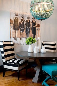 belle maison: Inspiration Snapshot: Eclectic Chic Dining