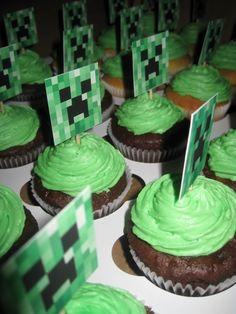 15 Best Minecraft Cupcake Amp Cake Ideas Images In 2014