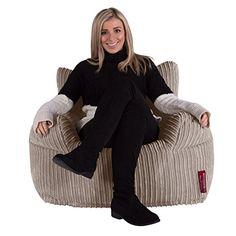 LOUNGE PUG - LARGE Adult Armchair Bean Bag - Ivory Cord -... https://www.amazon.co.uk/dp/B01HU2JWHM/ref=cm_sw_r_pi_dp_x_R3gfyb5F74G9A