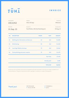 46 best invoice design images on pinterest graphics page layout