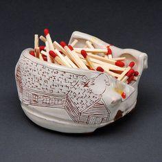 match striker by Ayumi Horie Pottery