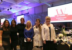 Melissa Stephens with Stephanie Patsalis, Kara O'Connor, Liz Offner, and Amber Christ.  A cordial cherry thank you to Barbara Corcoran of Shark Tank and the Women's Fund of Omaha.