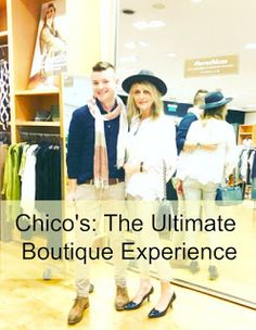 MAPLE LEOPARD: Chico's: The Ultimate Boutique Experience
