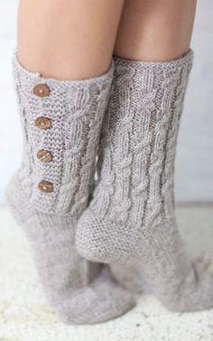I love warm soft socks :)