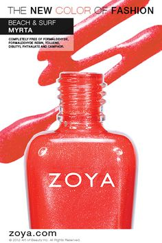 Zoya Nail Polish in Myrta from the Surf Collection