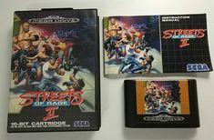 Sega Megadrive: Streets of Rage II (PAL Europe)  A few days ago I posted Thunder Force IV as the best shoot'em up game of all time (IMHO of course!). Now it's time for the best beat'em up: SoR 2.  I can't remember how many hundreds of hours I've played it either along or coop with my sister (great times) or how many times I've finished it. It's just great. The controls the characters the music (oh my the music by the master Yuko Koshiro). Those elevators were unforgettable!  My fav char is…