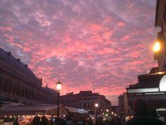 padova's sky