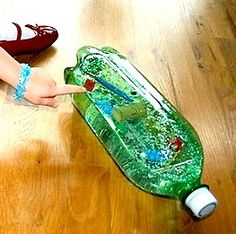 Here's a cool idea for making a sinking/floating bottle.