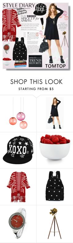 """TOMTOP 5."" by lillili25 ❤ liked on Polyvore featuring Fatboy, The Cellar, tomtop and tomtopstyle"