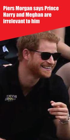 Piers Morgan says Prince Harry and Meghan are irrelevant to him Kate Middleton News, Meghan Markle News, Royal Family News, Piers Morgan, Good Morning Britain, Family Rules, Prince Harry And Meghan, Old Tv, Prince Charles