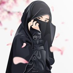 A scarf is an essential bit in the garments of women with hijab. Given it is central to the equipment that wi Girl Cartoon, Cartoon Art, Cute Cartoon, Muslim Pictures, Islamic Pictures, Tmblr Girl, Hijab Drawing, Islamic Cartoon, Lovely Girl Image