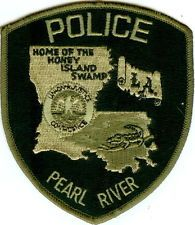 Pearl River  Police Patch Louisiana