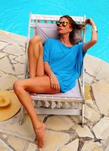 Alessia Marcuzzi http://www.lapinella.com/2013/07/12/costume-intero-ecco-perche/  #muryx #muryxswimwear #aldabra #swimsuit #mediumkaftan  #purplebracelet #paradise #bay6