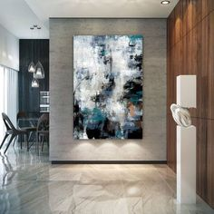 Large Modern Wall Art Painting,Large Abstract Painting on Canvas,painting wall art,abstract canvas art,canvas wall art Large Abstract Wall Art, Large Canvas Art, Large Painting, Painting Canvas, Abstract Paintings, Canvas Canvas, Art Paintings, Large Artwork, Abstract Portrait