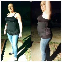 ae7db91f1caf6 Customer starting her waist corset training