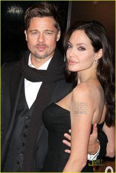Image detail for -brad-pitt-angelina-jolie-changeling-premiere Brad And Angie, Brad Pitt And Angelina Jolie, Jolie Pitt, Le Jolie, Hot Couples, Famous Couples, Celebrity Couples, Celebrity Gossip, Angelina Jolie Wedding