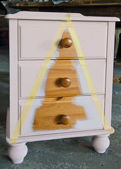 Painting and dressing up a small wood dresser with a modern design and Chalk Paint® | Better Homes and Gardens Australia