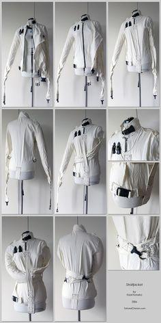 be743539ab074e Straightjacket by KaoKoneko on Deviantart Костюмированное Платье,  Трансвеститы, Баленсиага, Плащ, Dress Up