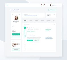 Trustedoctor - Consultation Details by Matt Wojtaś Design Web, Web Design Tutorial, Login Design, Design Trends, Webdesign Inspiration, Web Inspiration, Interface Web, User Interface Design, Dashboard Ui
