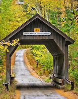 Swamp Meadow Covered Bridge in Rhode Island | Babylon and Beyond Photography