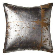 Nate Berkus Foil Print Decorative Pillow 24.99 Nate Berkus for Target.  Go.  Run.  Now.