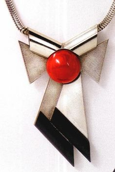 1933 Art Deco necklace by Jakob Bengel