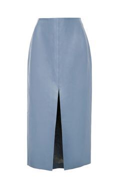 Shop Leather Pencil Skirt by Carven Now Available on Moda Operandi
