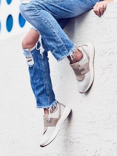 You Don't Need Any More White Lace-Ups—Buy These Instead via @WhoWhatWear