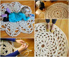 Giant-Crochet-Doily-Rug-