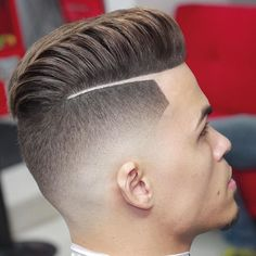 Haircut by Wester. Shit looks hella clean....I would love to get cut up by this barber! I'd be feelin' super fresh!!