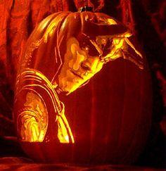 Loki Pumpkin Carving <3 Loki <3