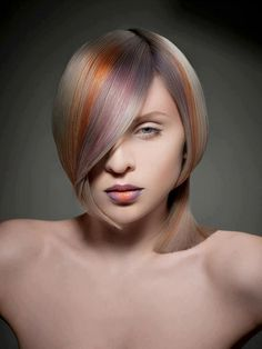 Hair by Hagen Krüger Haircut Styles For Women, Short Hair Styles, Natural Hair Styles, Hair Rainbow, Corte Y Color, Pastel Hair, Hair Art, Hair Today, Cut And Color