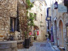 Saint-Paul de Vence, France.