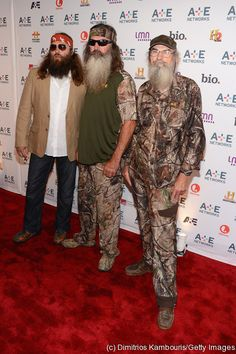 Duck Dynasty! Willie,Phil,and Si Robertson