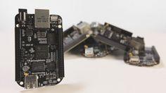 The BeagleBone Black open-source Linux computer, alternative to Raspberry Pi