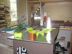 chartreuse chaise not ready for prime time (in process) by More2view, via Flickr