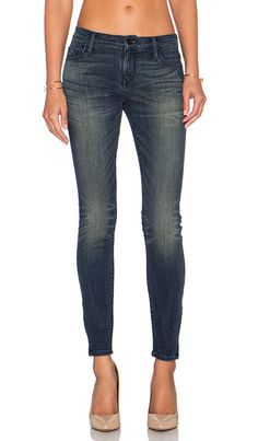 BLACK ORCHID Denim Jude Mid Rise Super Skinny Jeans Faded Blue 27 $190 #209 #BlackOrchid #SlimSkinny